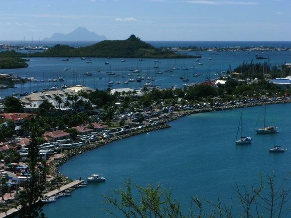 Marigot bay, St Martin