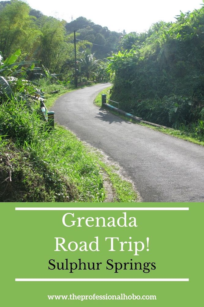 Grenada Road Trip! We're going to Sulphur Springs, and you have to know a local with a 4x4 to get there. #Grenada #Caribbean #SulphurSprings #traveladventures #TheProfessionalHobo #rumshop #islandlife