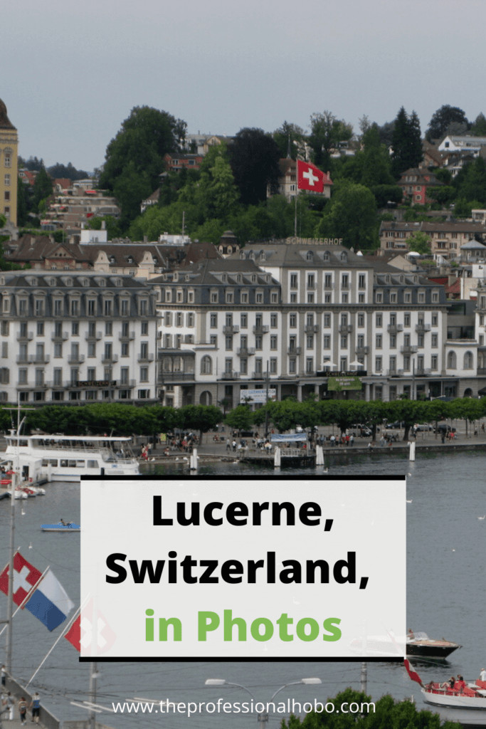 Lucerne Switzerland is utterly gorgeous, and clean! Learn more about this quirky place through photos. #photoessay #Switzerland #Lucerne #TheProfessionalHobo #travelphotos