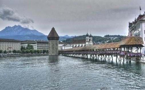 Lucerne's Chapel Bridge