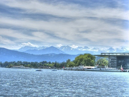 Lucerne and mountains