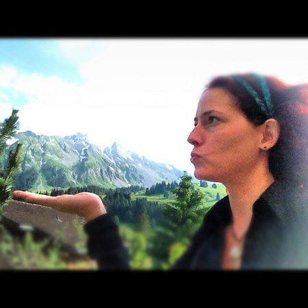 Mount Rothorn, in the palm of my hand