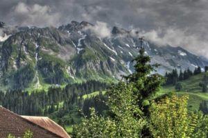 Mount Rothorn in Switzerland