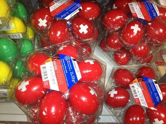 patriotic eggs