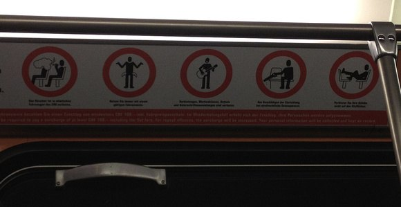 tram rules