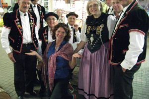 Swiss National Day celebrations - yodellers!