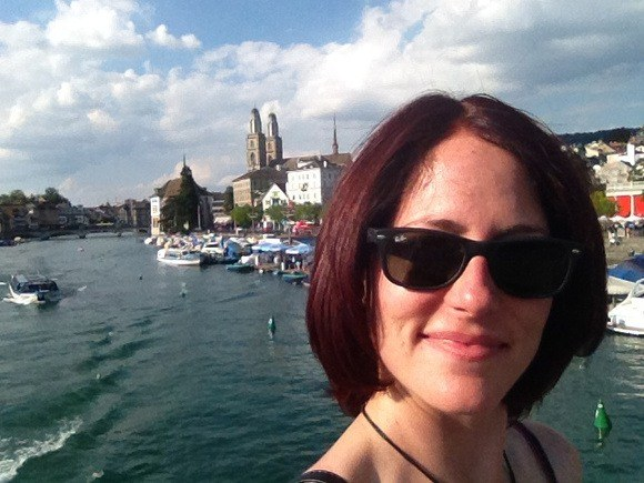 Nora Dunn, The Professional Hobo, in Zurich Switzerland