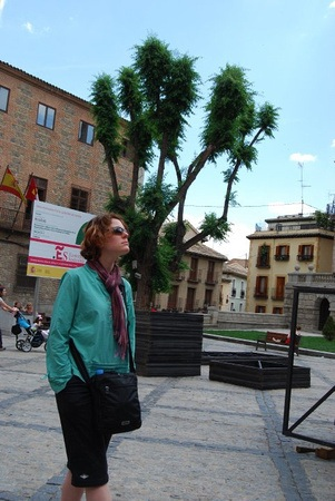 wandering the streets of Spain in 2010