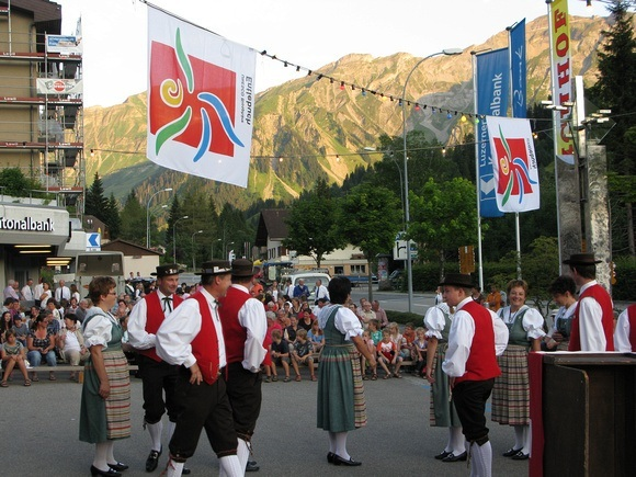 Swiss National Day celebrations in Sorenberg