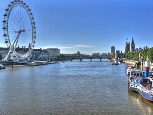 The Big Eye on the Thames