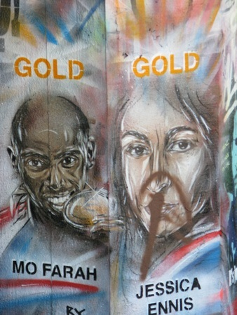 Olympic additions to the graffiti park