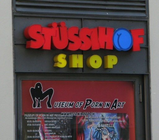 naughty shops in Switzerland