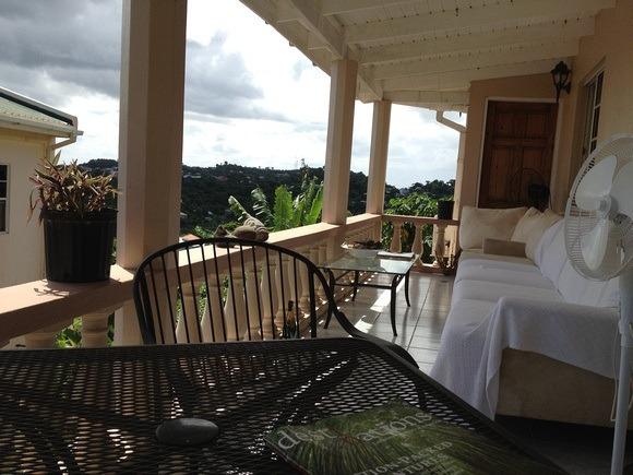 Caribbean terrace
