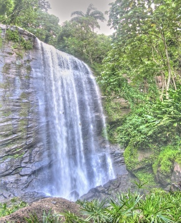 Mt Carmel falls, Grenada