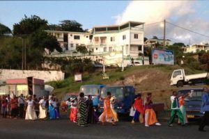 Parade in Grenada