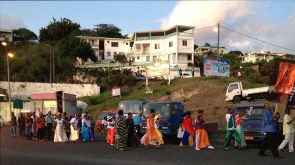 Colourful Grenada: A Random Street Parade