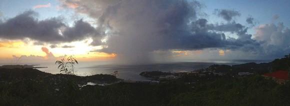Grenada dramatic panorama