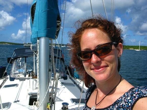 Nora Dunn Sailing in St Martin