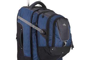 wheeled backack