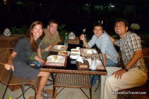 bangkok dinner ya nop
