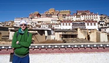 Christmas at a Tibetan Monastery