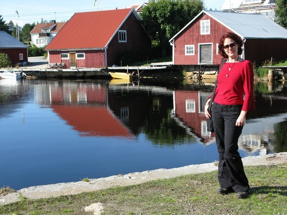 The Professional Hobo, Nora Dunn, in northern Sweden