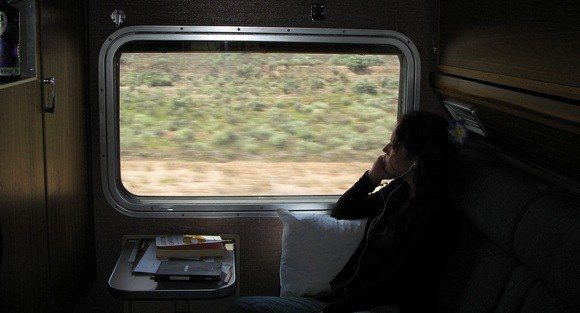 Train Travel on The Ghan in Australia, a real highlight from my 7 years of full-time travel