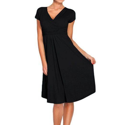 Every girl needs a little black dress for travel