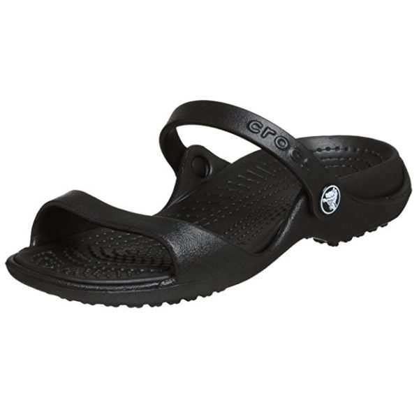 Crocs, Cleo Style, black - travel sandals for walking