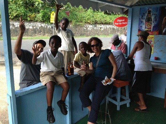 grenada west indies - rum shop