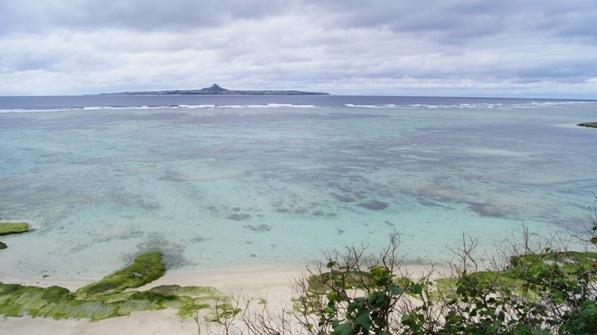 Emerald beach in Okinawa