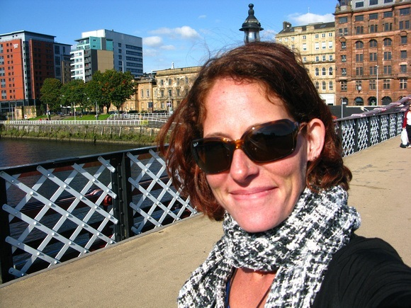 Nora Dunn in Glasgow Scotland