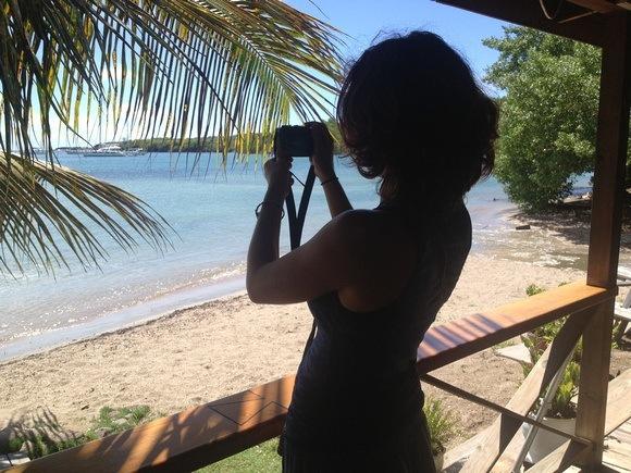 Nora Dunn in Grenada