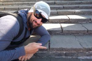 Adrian Landsberg's Adventure on the Great Wall, checking out Thailand and China