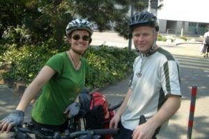 A week-in-the-life of Simone and Barry, on their bicycles