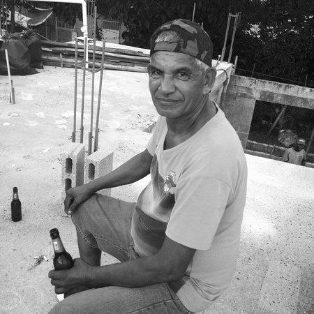 Papi, a Panamanian man who owns a bar in Veracruz Panama
