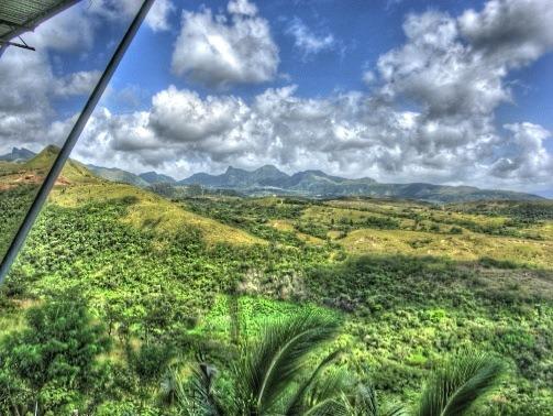 Panama green landscape