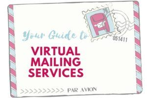 Virtual Mailing Services for travelers
