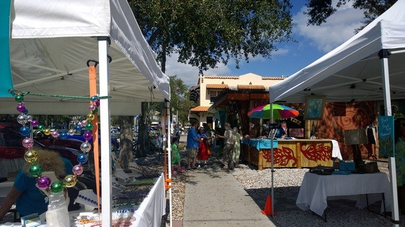 pedestrian market in Gulfport