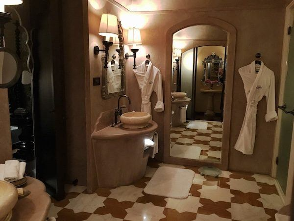 Fancy Hotel Bathroom, which you can get for free with mystery shopping
