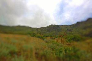 failing on a mountain