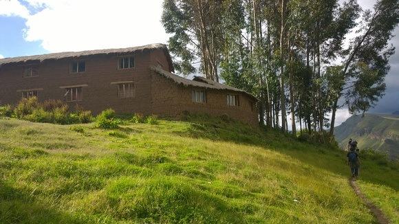 Dona Natividad's home, our Quechua mama