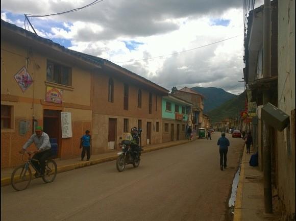 Main street through Pisac