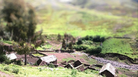 Puca Marca, an almost abandoned ancient village