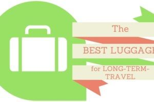 best luggage for long-term travel