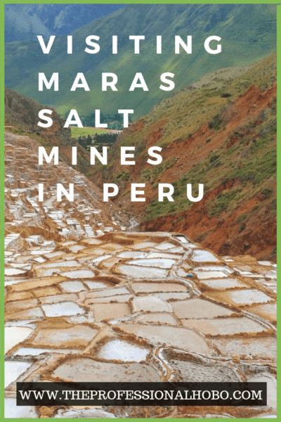 Maras Salt Mines Peru is a fully operational set of salt evaporation baths that have been running since pre-Inca times. It's fascinating - and like nothing you'll ever see. #fulltimetravel #travel #Peru #Cusco #Urubamba #MarasSaltMines #Maras #Salineras #Inca #saltbath #Andes