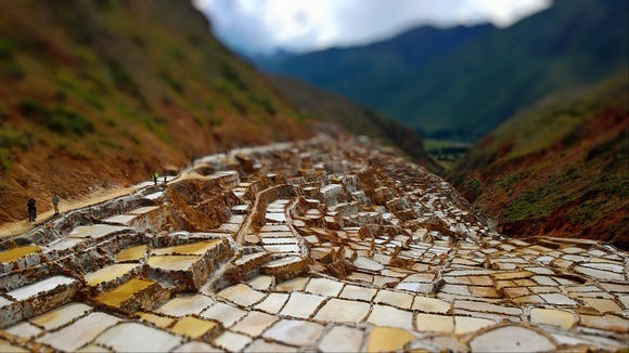 Maras Salt Mines history extends to pre-inca times, in Peru