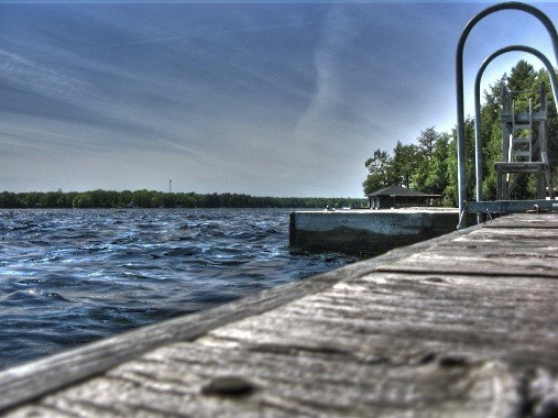 Muskoka dock