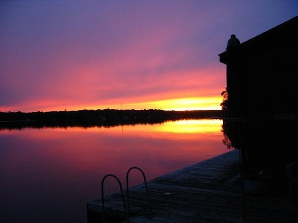 Another epic Muskoka sunset