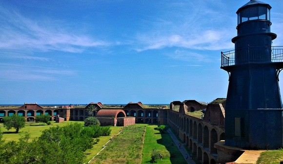 Fort Jefferson, on Dry Tortugas